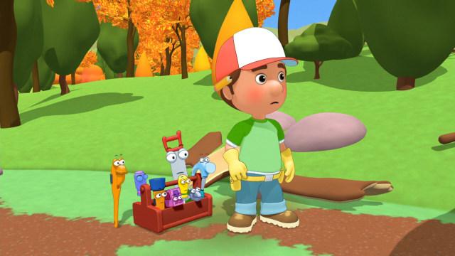 Nonton Handy Manny Season 3 Episode 31 - A Job From Outer ...