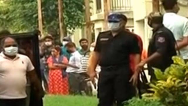 CCTV Footage of Jaipal flat