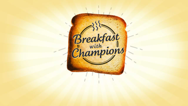 Image result for breakfast with champions