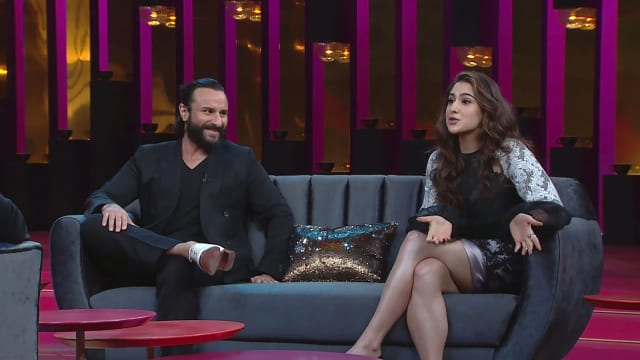 Watch Koffee With Karan TV Serial Episode 5 - Saif Ali Khan and Sara Ali  Khan Full Episode on Hotstar