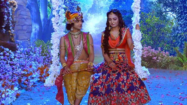 Watch RadhaKrishn TV Serial Episode 127 - Chandravali Loves Krishna Full  Episode on Hotstar