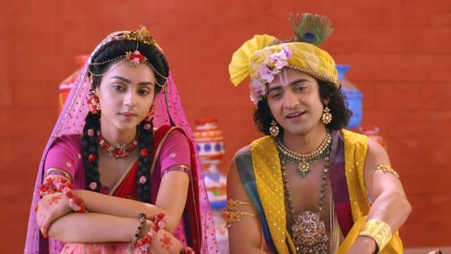 Watch RadhaKrishn TV Serial Episode 189 - Krishna, Radha Help Govardhan  Full Episode on Hotstar