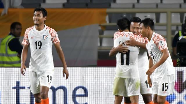 Football: Thailand 1-4 India
