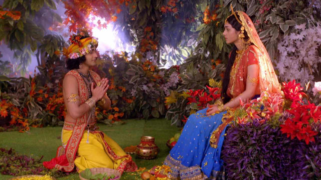 Watch RadhaKrishn TV Serial Episode 243 - Krishna's Devotion to Radha Full  Episode on Hotstar