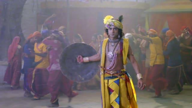 Watch RadhaKrishn TV Serial Episode 154 - Krishna to Fight Dhumrasur Full  Episode on Hotstar