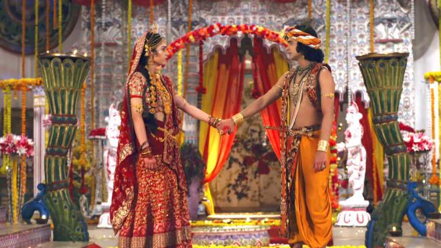 Watch RadhaKrishn TV Serial Episode 226 - Radha, Krishna's Final Moments  Full Episode on Hotstar
