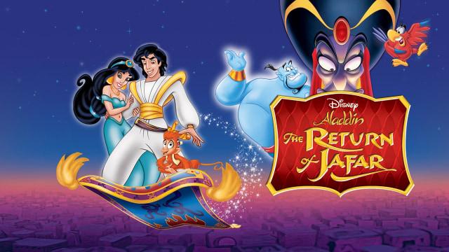 Watch Aladdin: The Return of Jafar Disney animated sequels