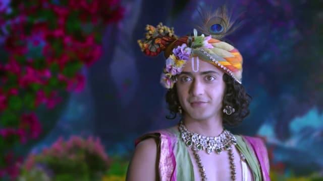 Watch RadhaKrishn TV Serial Episode 34 - Krishna Tricks Radha Full Episode  on Hotstar