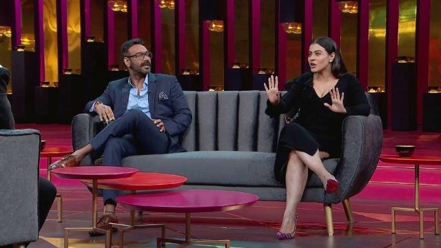 Watch Koffee With Karan TV Serial Episode 7 - Kajol and Ajay Devgn Full  Episode on Hotstar
