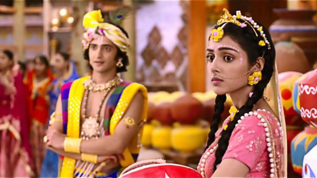 Watch RadhaKrishn TV Serial Episode 6 - It's Time for Love, Again! Full  Episode on Hotstar