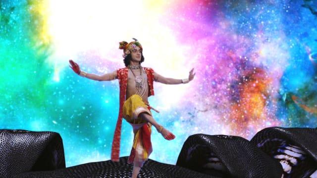 Watch RadhaKrishn TV Serial Episode 44 - Krishna Forgives Kaliya Full  Episode on Hotstar