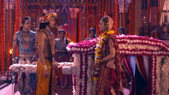 Watch RadhaKrishn TV Serial Episode 227 - Radha, Krishna's Painful Farewell  Full Episode on Hotstar
