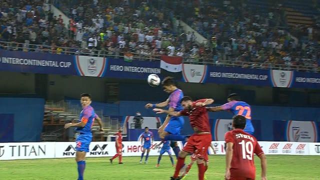 Football: India vs Syria