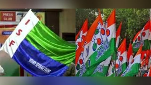 TMC allegedly put on fire in ISF worker's home in Bhangar