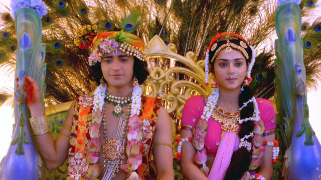 Watch RadhaKrishn TV Serial Episode 55 - Krishna's Plan for Radha Full  Episode on Hotstar