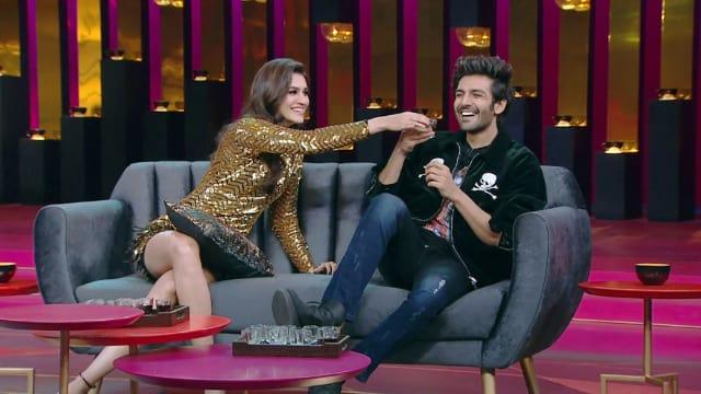 Watch Koffee With Karan TV Serial Episode 17 - Kartik Aaryan and Kriti  Sanon Full Episode on Hotstar