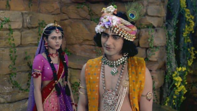 Watch RadhaKrishn TV Serial Episode 87 - Krishna Hurts Radha Full Episode  on Hotstar