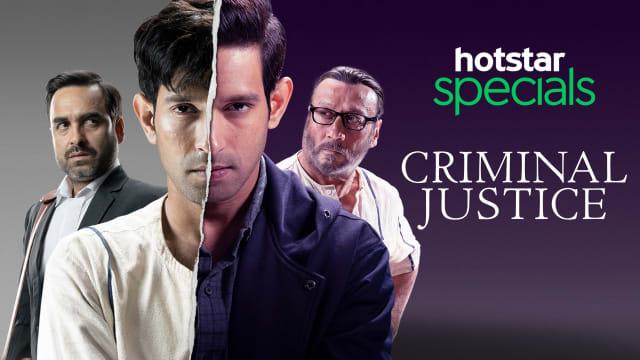 Criminal Justice TV Series Full Episodes, Watch Criminal