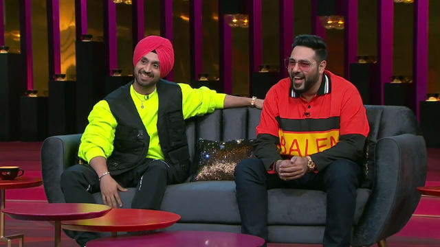 Watch Koffee With Karan TV Serial Episode 8 - Badshah and Diljit Full  Episode on Hotstar