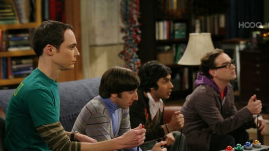 big bang theory season 5 episode 17 coke and popcorn