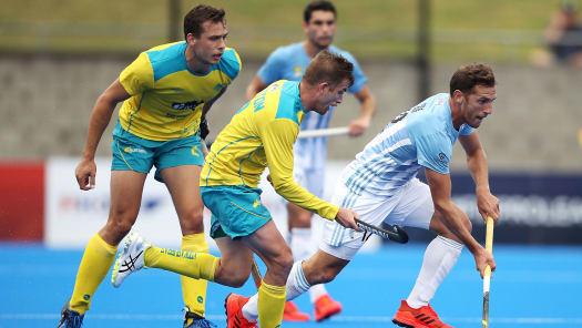 Hockey: Australia vs Argentina