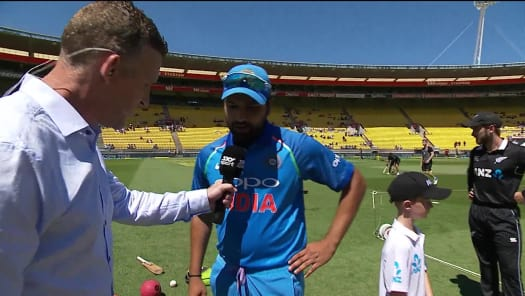 Watch All-round Pandya Mangles Kiwis from India in New