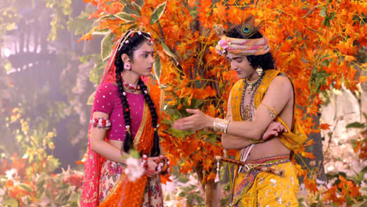 Watch RadhaKrishn TV Serial Episode 269 - Radha Witnesses a Miracle Full  Episode on Hotstar