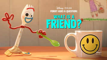 Forky Asks A Question: What is a Friend?