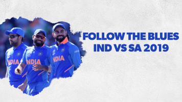 Follow the Blues - IND vs SA 2019