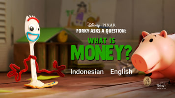 Forky Asks A Question: What is Money?