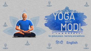 Yoga with Modi