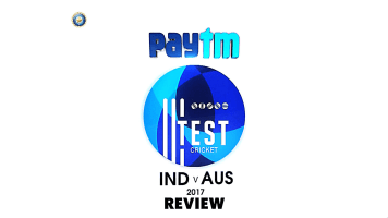 India vs Australia 2017 Test Match Review