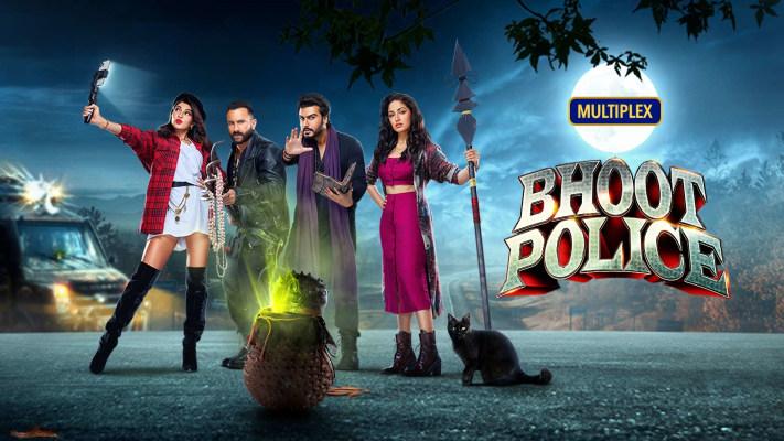 Bhoot Police 2021 banner HDMoviesFair