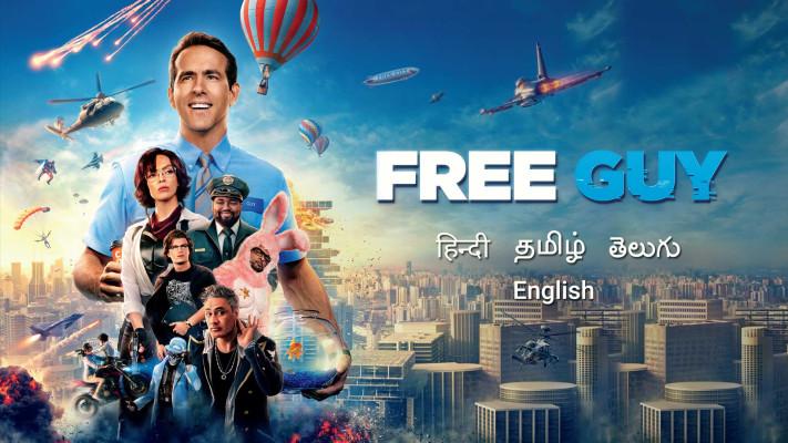 Free Guy 2021 banner HDMoviesFair
